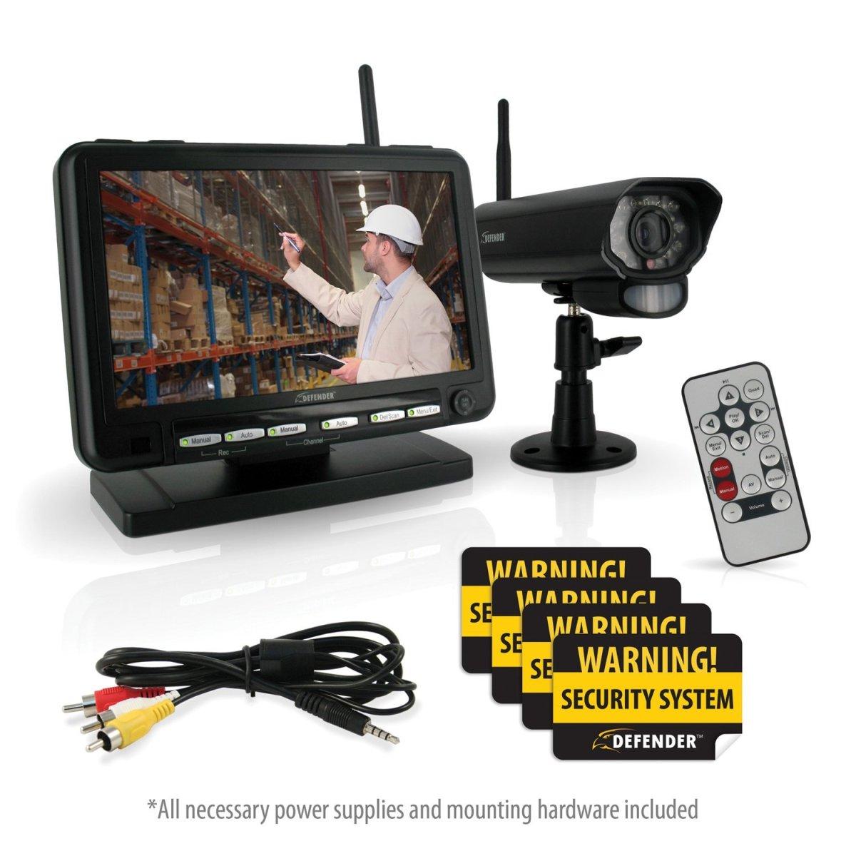 defender security system manual